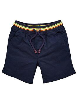V by Very V By Very Boys Woven Short With Jog Waistband - Navy Picture
