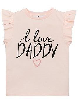 v-by-very-girls-i-love-daddy-frill-sleeve-t-shirt-blush