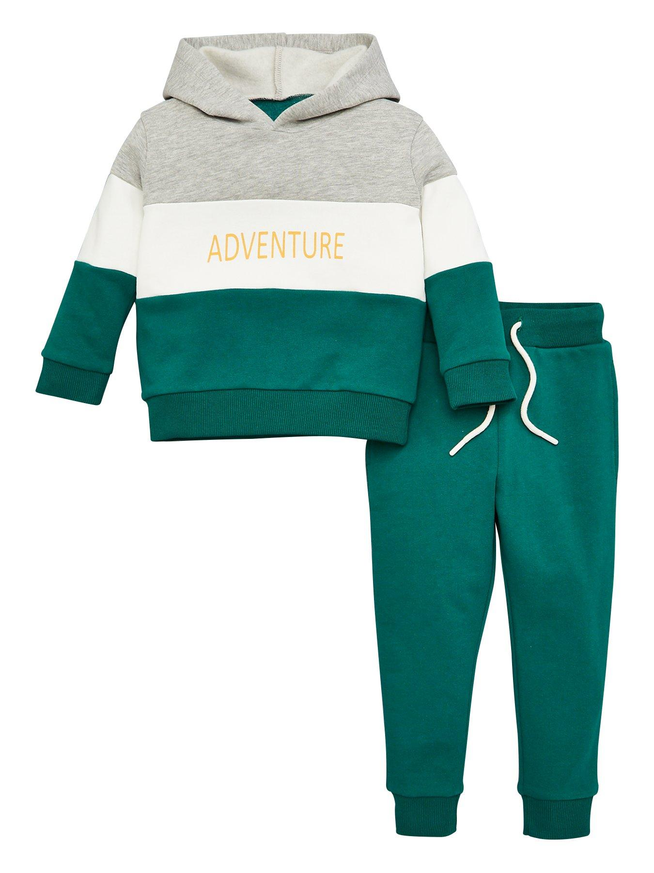 Character Kids Boys Jogging Set Infant Fleece Tracksuit Long Sleeve Lightweight