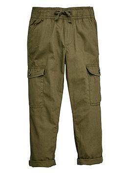 V by Very V By Very Boys Cargo Trousers - Khaki Picture