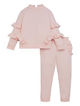 v-by-very-girls-frill-detail-jog-set-pink