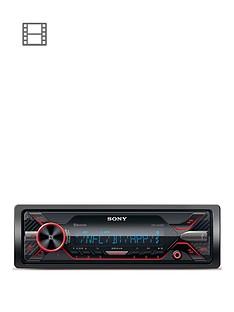 sony-dsx-a416bt-dual-bt-external-mic-red-cd-less