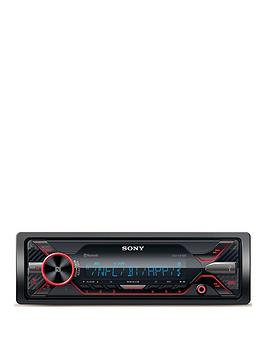 Sony Sony Dsx-A416Bt Dual Bt External Mic Red Cd-Less Picture
