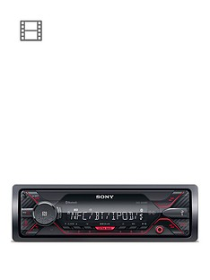 sony-dsx-a410bt-bt-mechaless-1wire-red-illumination-a400bt-successor