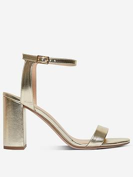 Dorothy Perkins Dorothy Perkins Dorothy Perkins Shimmer Sandals - Gold Picture