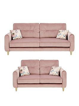 Very Picadilly Fabric 3 Seater + 2 Seater Sofa Set (Buy And Save!) Picture