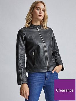 dorothy-perkins-dorothy-perkins-black-collarless-biker-jacket