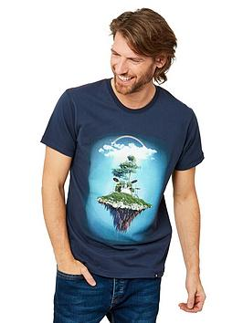 Joe Browns Joe Browns Floating Drums Short Sleeve T-Shirt - Blue Picture