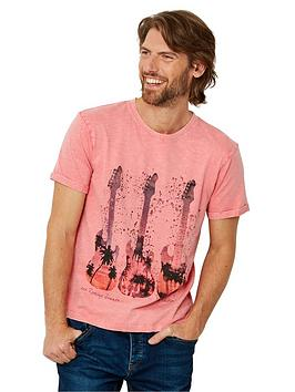 Joe Browns Joe Browns Sunshine Guitar Short Sleeve T-Shirt - Pink Picture