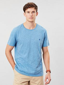 Joules Joules Crew Neck T-Shirt - Blue Marl Picture