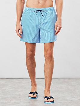 Joules Joules Swim Shorts - Blue Stripe Picture
