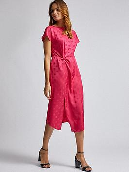 Dorothy Perkins Dorothy Perkins Dorothy Perkins Hot Pink Jacquard  ... Picture