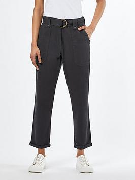 Dorothy Perkins Dorothy Perkins Petite Utility Trousers &Ndash; Black Picture