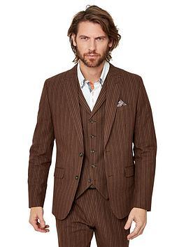 Joe Browns Joe Browns Sensational Stripe Blazer - Chestnut Picture