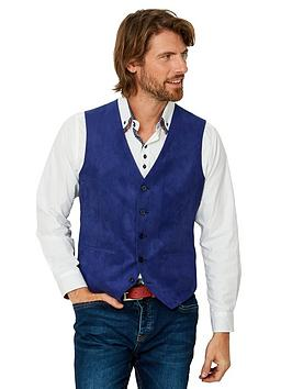 Joe Browns   Fun And Funky Waistcoat - Blue