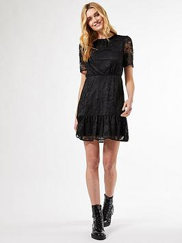 Dorothy Perkins Dorothy Perkins Lace Smock Dress - Black Picture