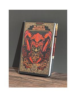 Very  Dungeons And Dragons Notebook And Pencil