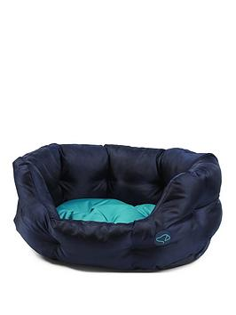 zoon-uber-activ-oval-pet-bed-navy