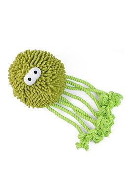 Zoon   Jumbo Octo Noodly Plush Dog Toy