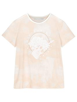 Mintie by Mint Velvet Mintie By Mint Velvet Girls Rock Band T-Shirt - Nude Picture