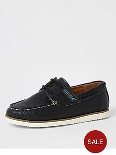 river-island-boys-lace-up-boat-shoes--nbspnavy