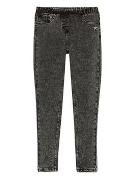 Mintie by Mint Velvet Mintie By Mint Velvet Girls Jeggings - Black Picture