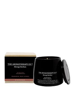 Very 260G Therapy Kitchen Candle - Lemongrass, Lime & Bergamot Picture