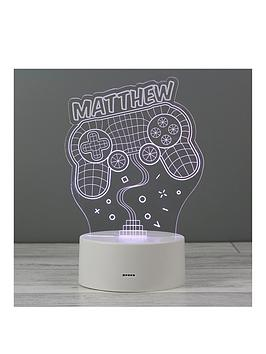 Very Personalised Led Game Pad Night Light Picture