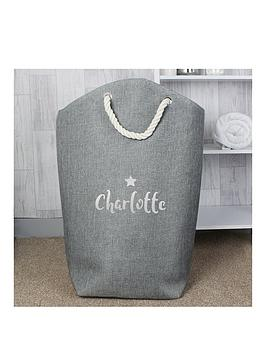 Very Personalised Silver Print Storage Bag Picture