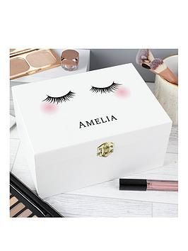 Very  Personalised Eyelashes Make Up Box