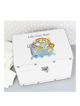 Personalised Noahs Ark Keepsake Box