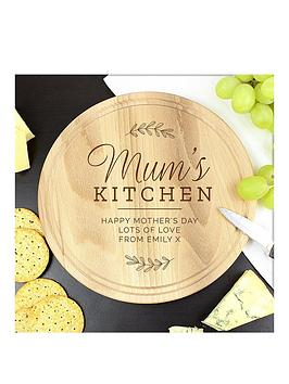 Very Mum'S Kitchen Round Chopping Board Picture