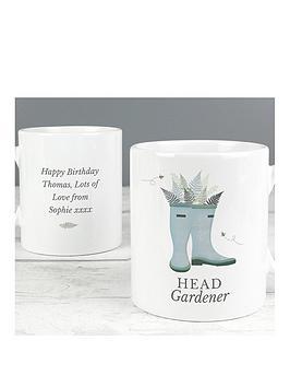 personalised-wellies-head-gardner-mug