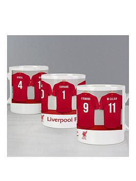 Very Personalised Official Football Dressing Room Mug Picture