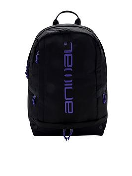 Animal   Kickstart Backpack - Black