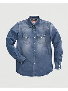 replay-hyperflex-denim-shirt