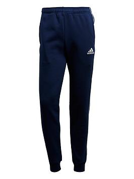 Adidas    Mens Core 18 Sweat Hooded Tracksuit Bottoms