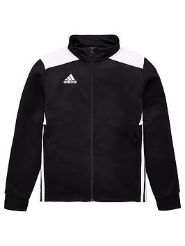Adidas Adidas Youth Regista Tracksuit Top - Black Picture