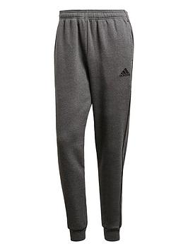 Adidas   Core 18 Sweat Tracksuit Bottoms - Grey