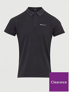 replay-jersey-polo-shirt-black