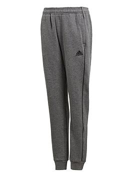 Adidas Adidas Youth Core 18 Tracksuit Bottoms - Grey Picture