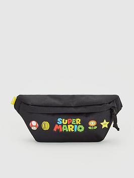 Levi's Levi'S Super Mario Banana Sling Bag - Black Picture