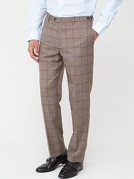 Skopes Skopes Tailored Welburn Trousers - Brown Check Picture
