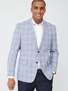 Skopes Skopes Tailored Cataldi Jacket - Blue/Stone Check Picture