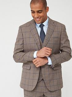 skopes-tailored-welburn-jacket-brown-check