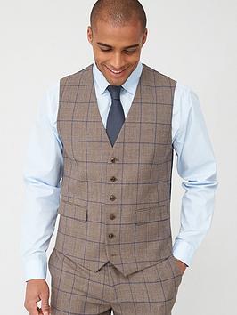 Skopes Skopes Standard Welburn Waistcoat - Brown Check Picture