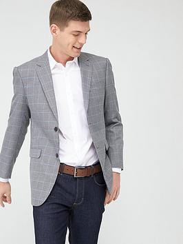 Skopes Skopes Classic Moulton Jacket - Grey/Blue Check Picture