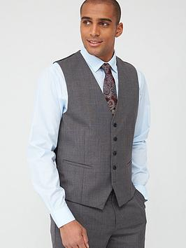 Skopes Skopes Standard Pietro Waistcoat - Grey Textured Weave Picture