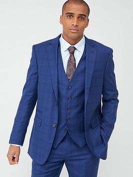 Skopes Skopes Tailored Aquino Jacket - Blue Check Picture