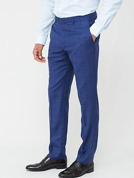 Skopes Skopes Tailored Aquino Trousers - Blue Check Picture